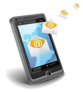 mobile email on your smart phone