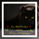 Pre- Black Friday and the 60 Days of Christmas