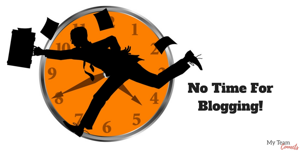 no time for blogging