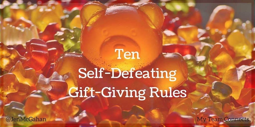 Ten gift-giving rules