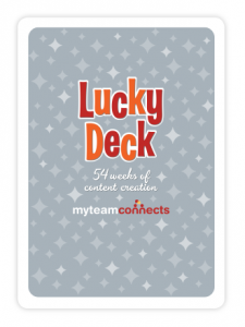 Purchase Lucky Deck and access free content libray