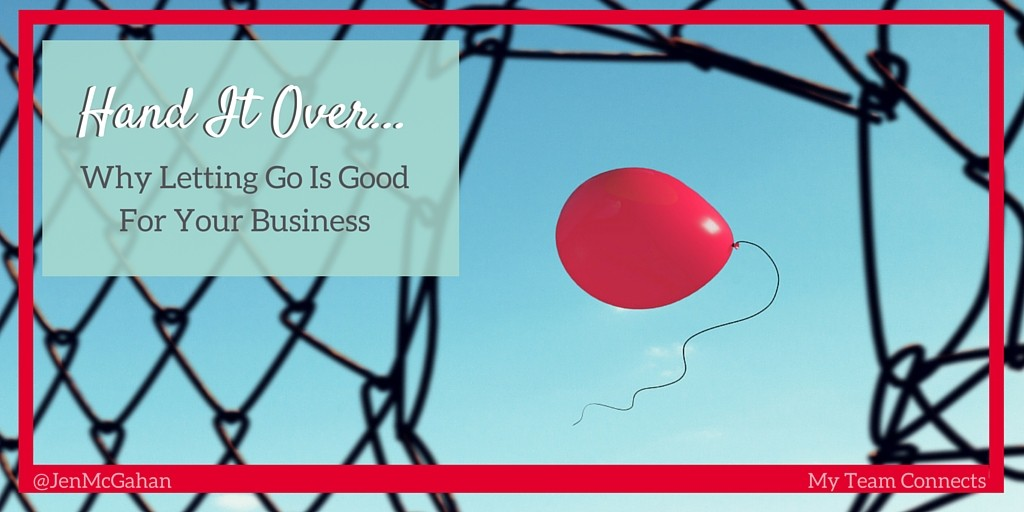 letting go in your business