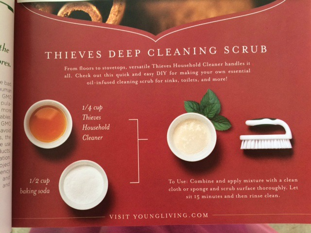 thieves scrub recipe