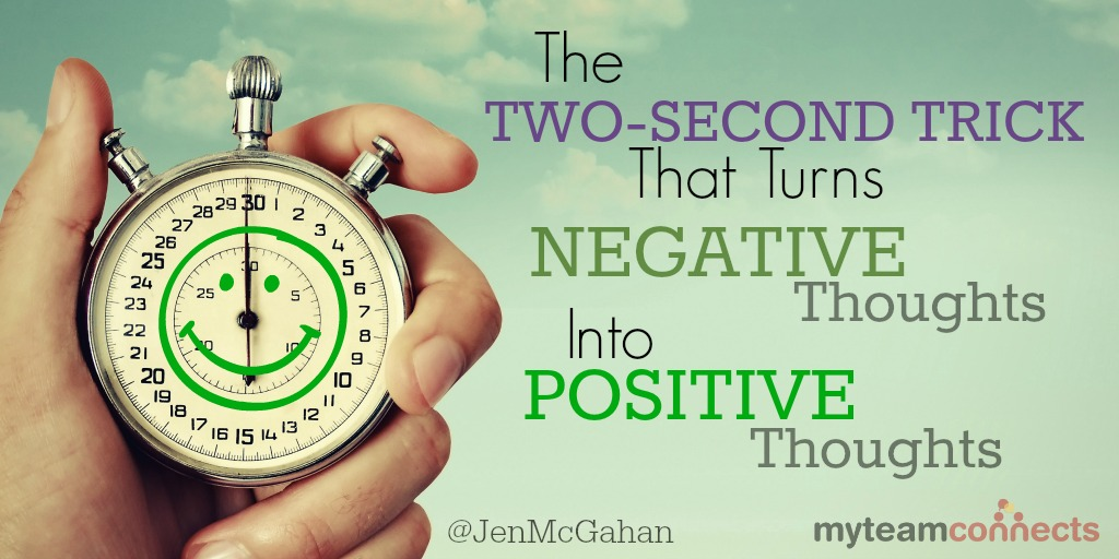 two-second trick for negativity