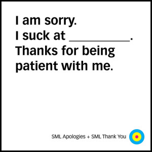 Thanks for being patient.