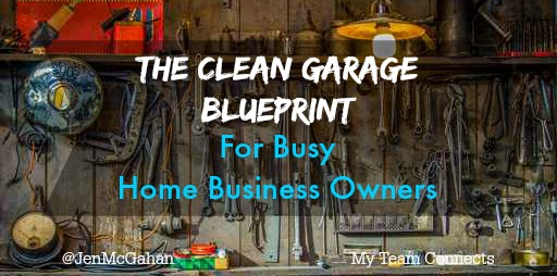 The clean garage Blueprint for people who work from home