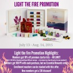 Light the Fire Promotion details