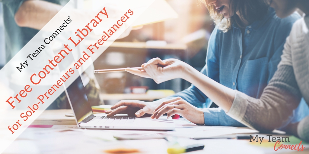 free content library for freelancers