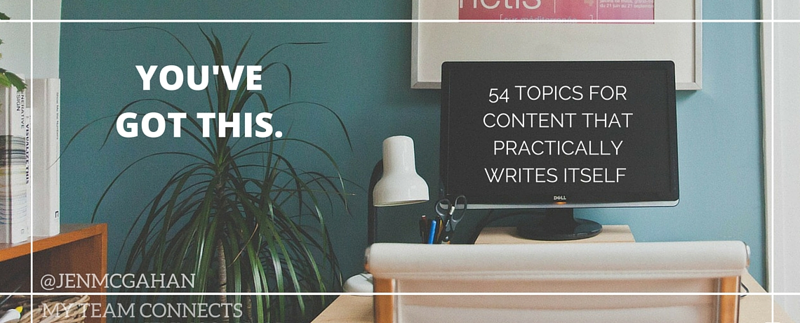 Content Ideas For Your Blog, Emails, and Videos