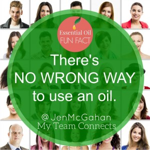 There's no wrong way to use an essential oil