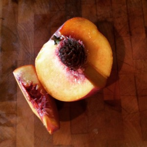 A juicy peach from Texas
