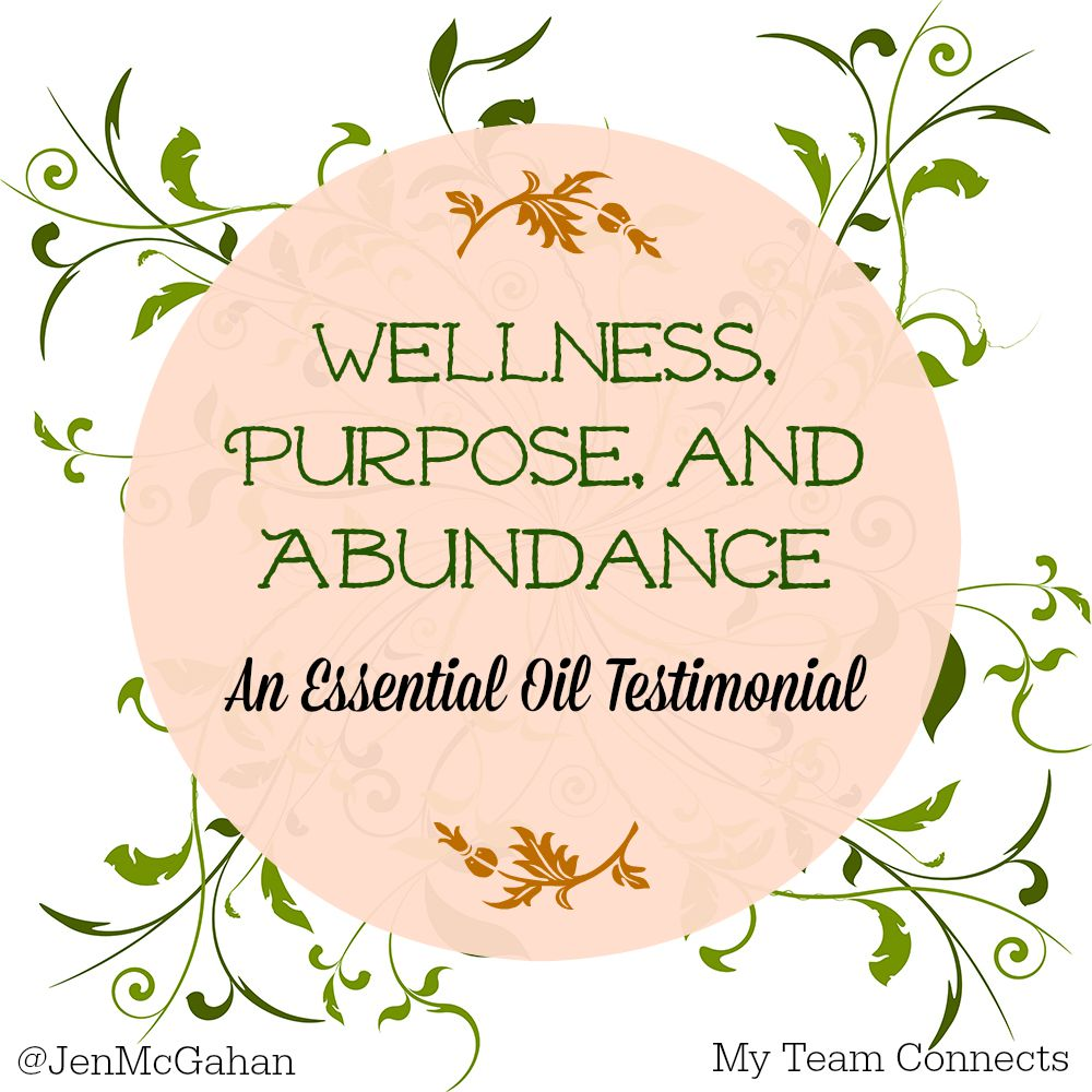 essential oil testimonial