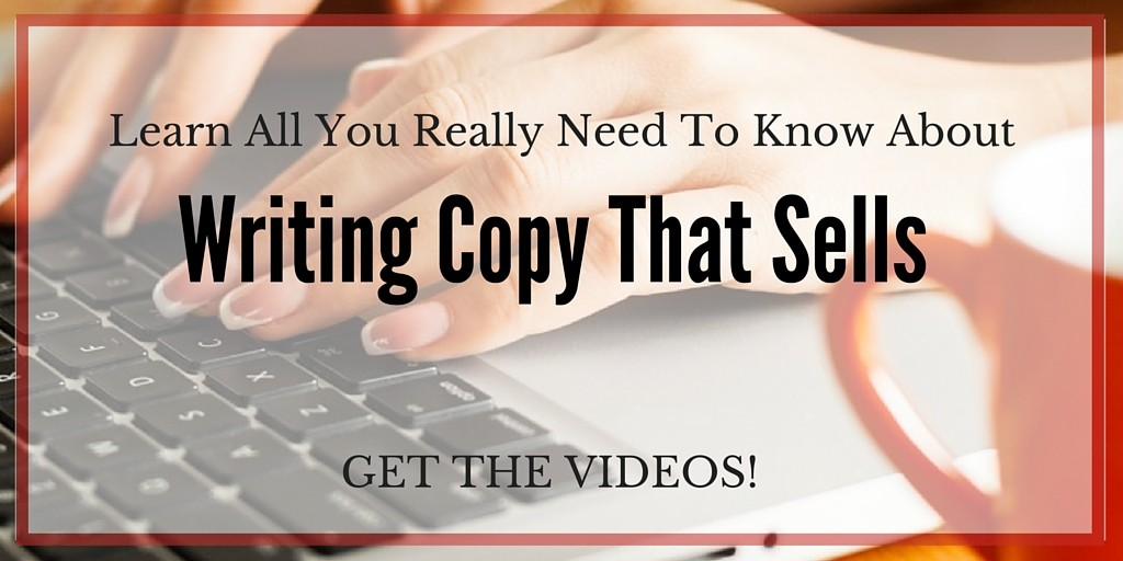 Learn to write copy that sells