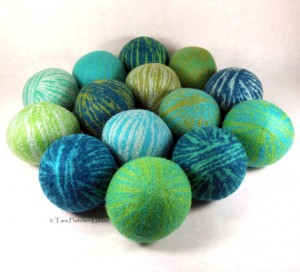 dryer balls with Lavender essential oils