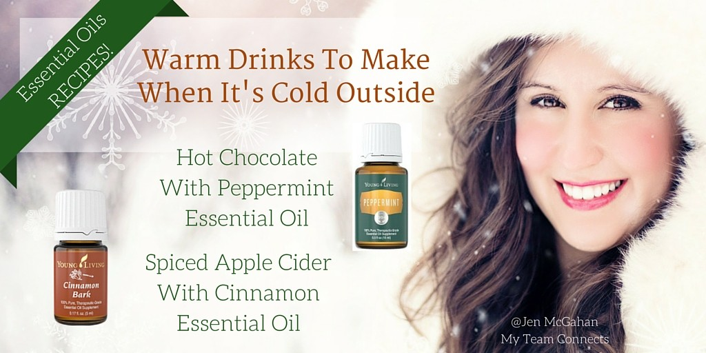 warm drinks to make With Essential Oils