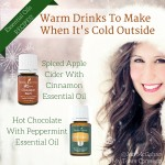 Warm Drinks To Make With Essential Oils When It's Cold Outside