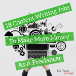 18 Content Writing Jobs To Make More Money As A Freelancer