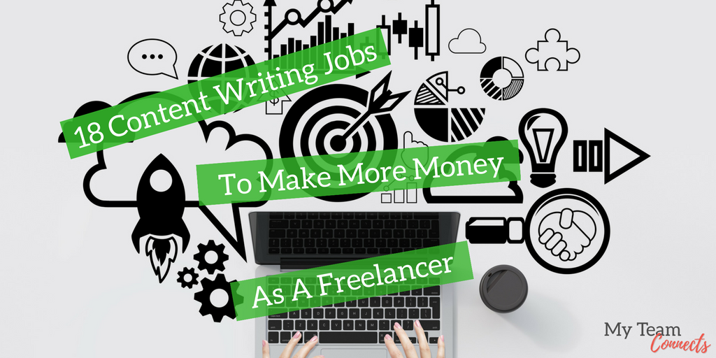 content writing jobs to make more money as a lancer my  18 content writing jobs