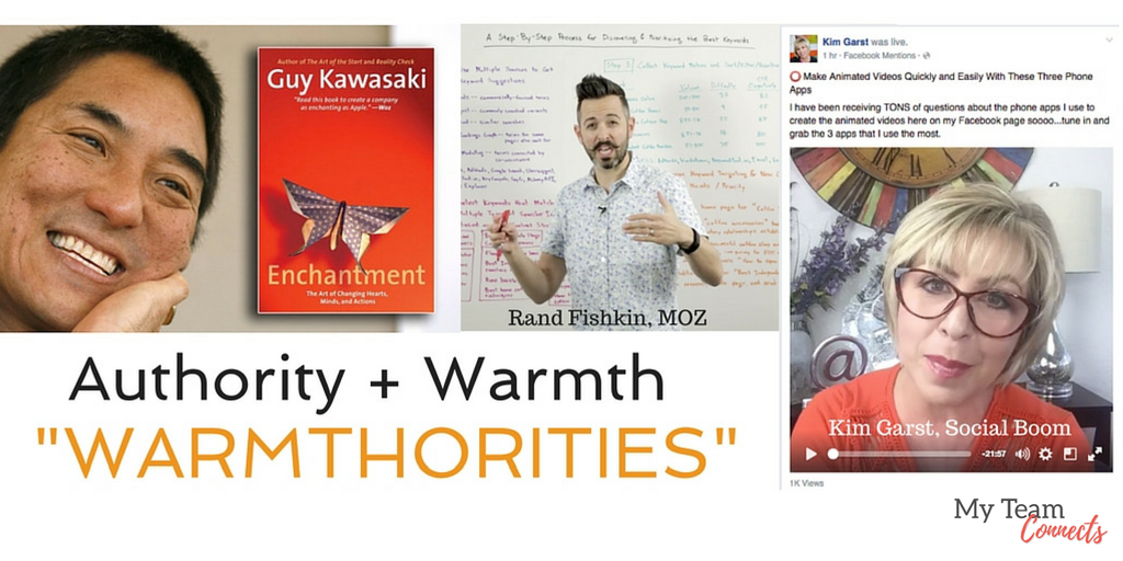 rules for authority+ warmth = warmthority