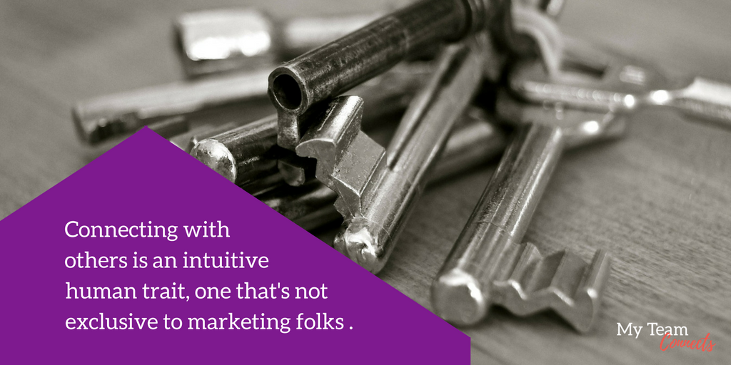 marketing is a universal trait — to a point!