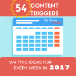 Content Triggers for Every Week in 2017