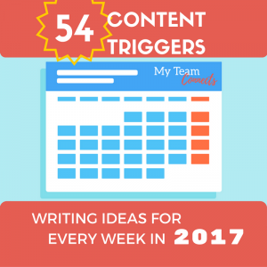content triggers for 2017